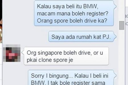 BMW for $13,000? S'poreans are buying cheap cloned cars in M'sia