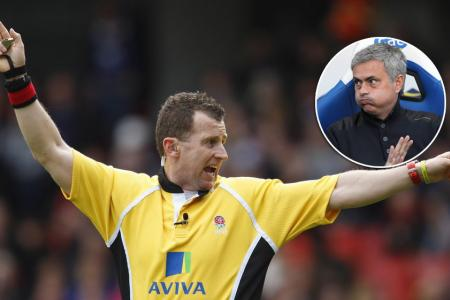 Watch out Jose! No-nonsense rugby ref wants to officiate football game