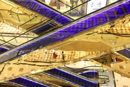 Another escalator plate collapses in China