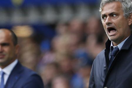 Mourinho's outburst at Martinez caught on mic
