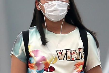Don't hold your breath, face masks are here
