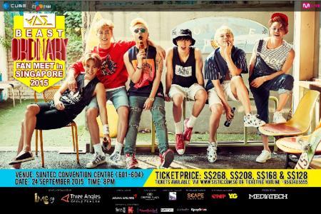 Win tickets to K-pop boyband Beast fan meet