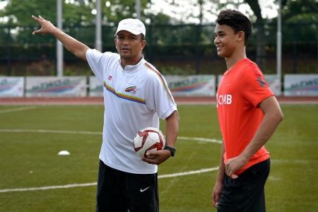 Ikhsan Fandi rattled by quake, but safe in Chile