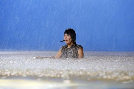 Aileen Tan soaks in muddy water for three nights for Jack Neo movie