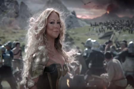 Meet Mariah Carey, the dragon slayer