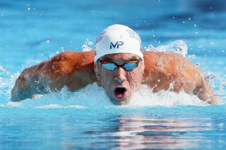 Phelps the one to watch at next year's Olympics