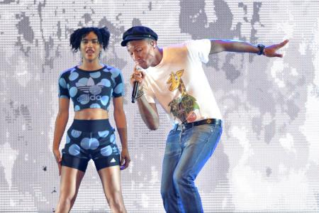 50,000 Happy fans thanks to Pharrell