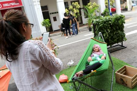 Park(ing) Day sees parking lots turned into quirky fun zones