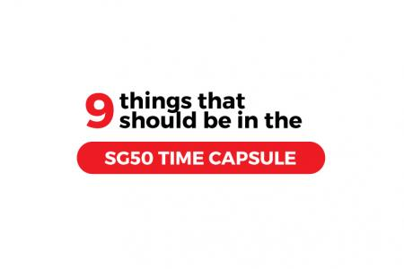 SG50 Time Capsule: 50 things you want to see in 2065