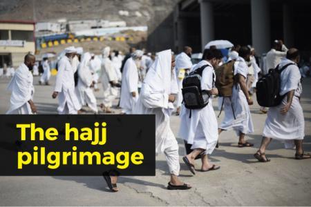 The hajj pilgrimage in numbers