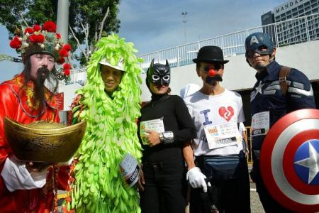 Look out for 'Captain America' and 'Maleficent' at Jubilee Big Walk