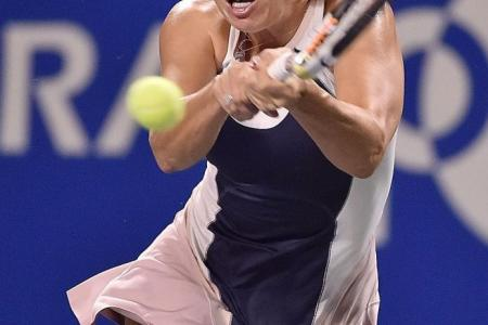 Top women's tennis players hope to succeed in Asia to book tickets for Singapore