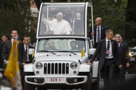 Pope Francis the rock star