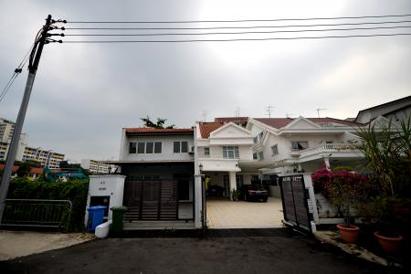 Owner blames sinking house on excavation works