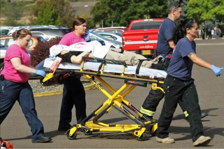 Oregon mass shooting is 294th in US this year