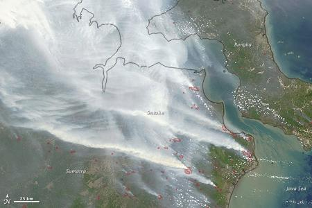 Indonesia fire could be worst on record: Nasa