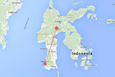 Indonesian plane carrying 10 loses contact in Sulawesi