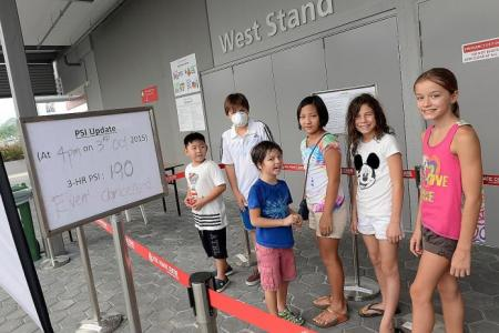 Haze forces cancellation of Day One of Fina World Cup