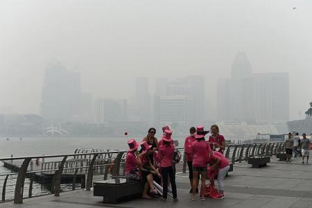 Events cancelled because of haze
