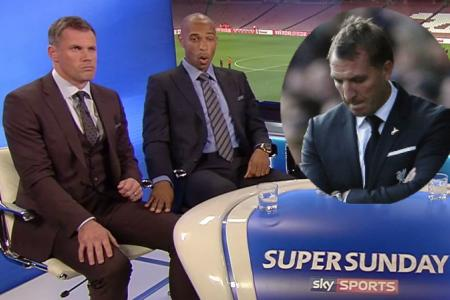 Thierry Henry's superb reaction to Brendan Rodgers' sacking
