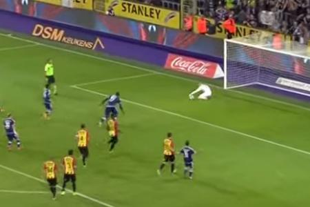 Watch: Goalie saves three penalties in one match