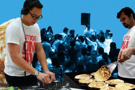 Prata Party: Singaporeans dance for prata