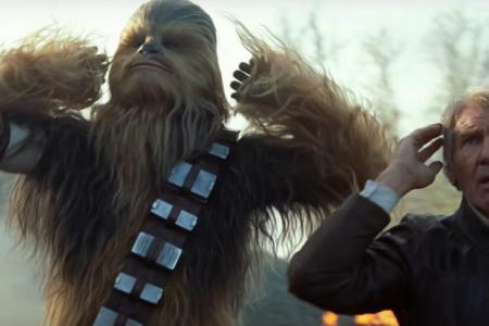 The best reactions over the new Star Wars trailer