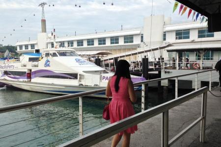 Ferry service to Batam resumes after 90 min haze disruption