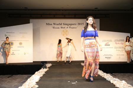 Miss World Singapore 2015 winner facing flak for Myanmar roots