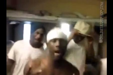 Inmates punished for making rap video in prison
