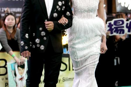 Romance wins on the TVB Awards red carpet