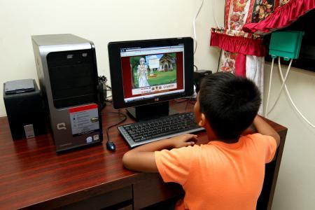Keep an eye on children's online activities