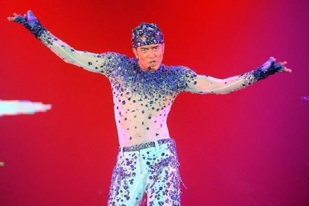 Dancing king Aaron Kwok not slowing down at 50