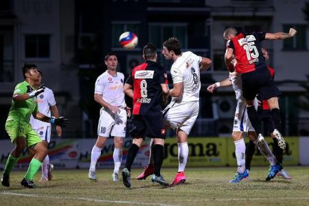 DPMM's title if Tampines can't beat Home