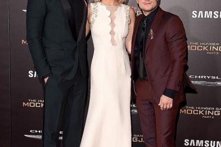 Hunger Games cast honour Paris attack victims