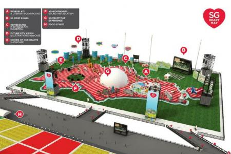Celebrate special local locations at the SG Heart Map Festival @ Float