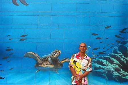 Kids' brush with art at Sentosa raises $10,000