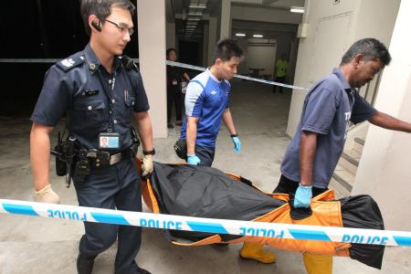 Wife of man found dead in Yishun flat: All I have left is his blood