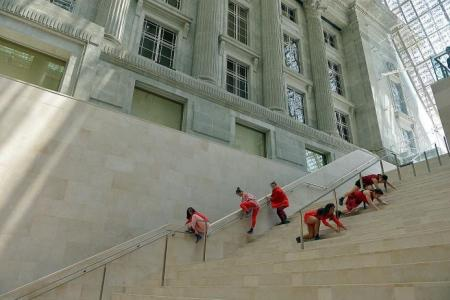 Big Walk participants can enjoy National Gallery opening celebrations