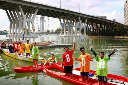 SG50 Jubilee Big Walk a chance for them to bond