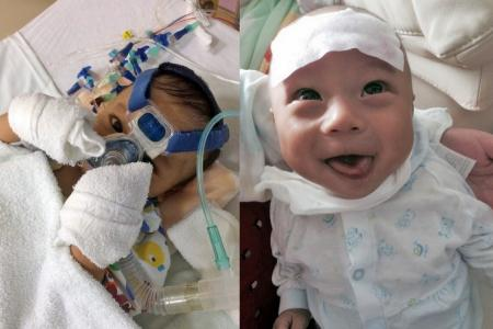 Family faces dilemma as baby's liver fails again after transplant