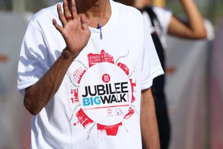 TNP event a walk down memory lane for some SG50 Jubilee Big Walk participants