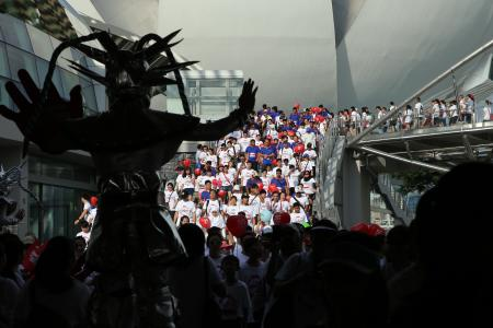 SG50 Jubilee Big Walk a chance for participants to take in Singapore's landmarks