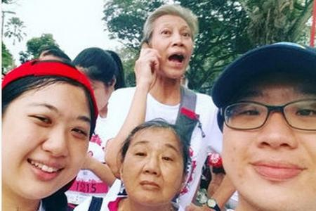 Taking selfies a top draw among Big Walk participants