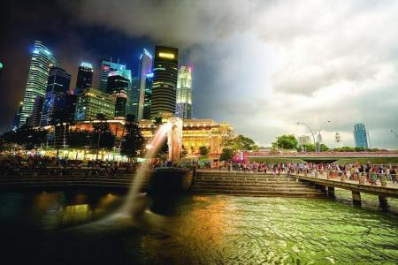 Singapore photographer's pictures show day and night in a snap