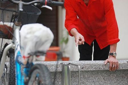 U-lock to stop bike thieves