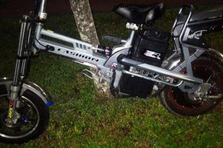 E-bike crashes into two elderly sisters, injuring them
