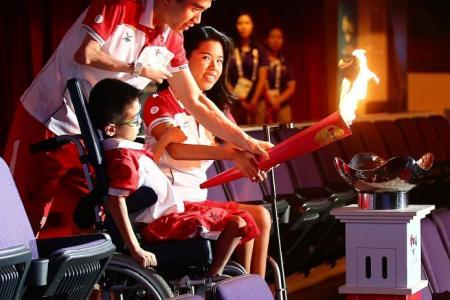 Sense of pride for torch-bearers