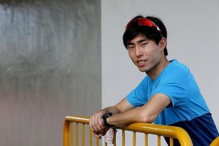 Foot injury forces marathoner Soh to quit Fukuoka Marathon