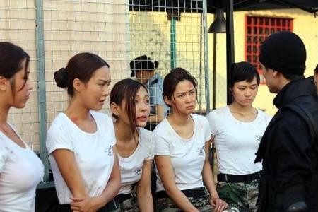 Girl-next-door TV actress is hot cop in debut movie